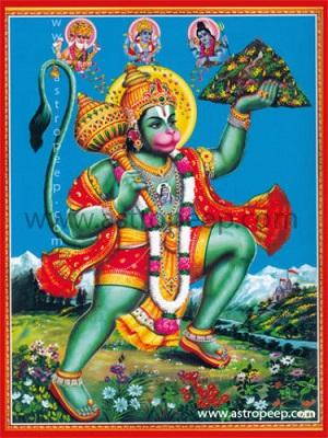 Sri Anjaneya Sahasranama Stotram