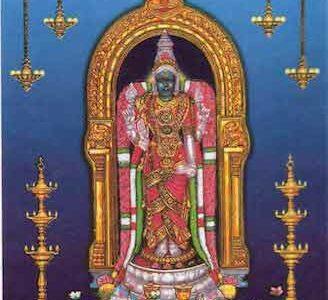 Garbharakshambika Stotram in Telugu