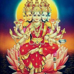 Sri Gayathri Ashtottara Shatanamavali